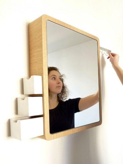 Очень функциональные зеркала для ванной