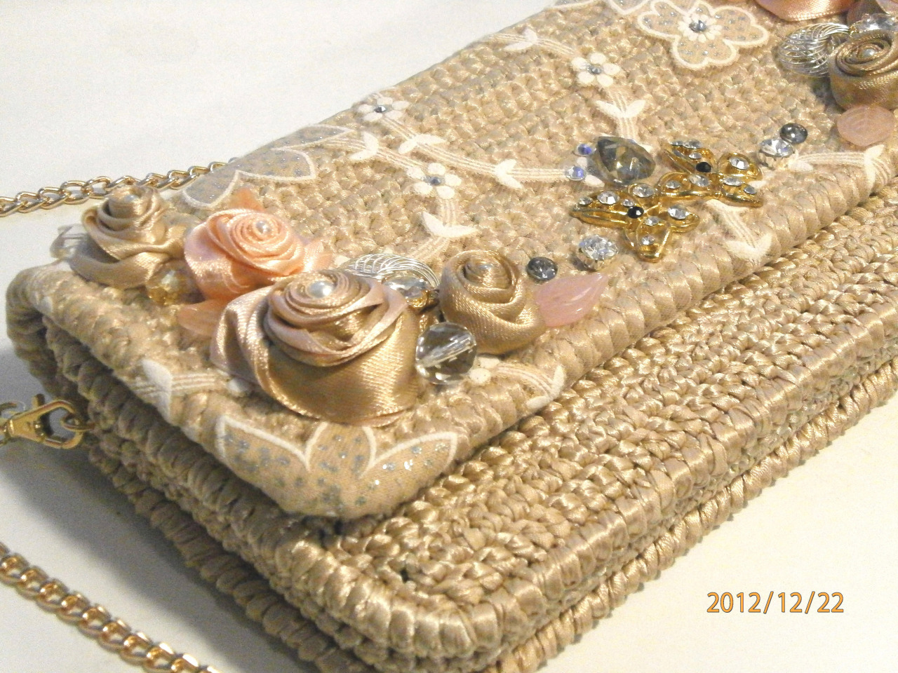 Вязание из лент фото