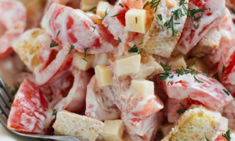 Отменный простой салатик «Смак»