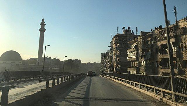 В Алеппо 65 человек получили химическое поражение при обстреле