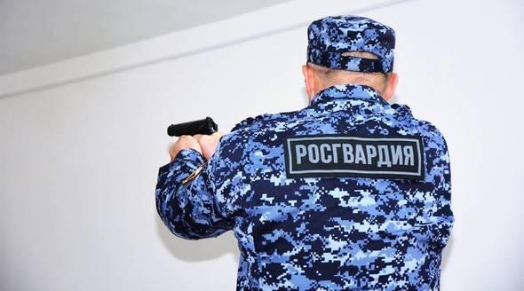 Военнослужащие Росгвардии за…