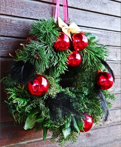 Готовимся к Новому году. Рождественский венок своими руками