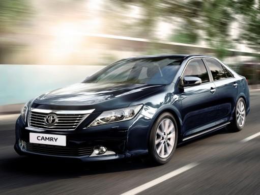 Toyota Camry с октября будет продаваться на особых условиях