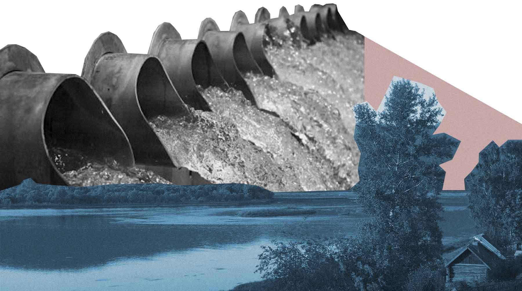 Самая полноводная река России и ГЭС, которые ее разрушают