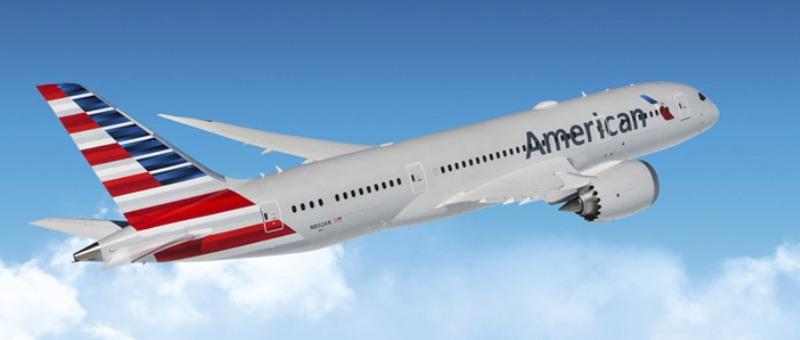 American Airlines в феврале …