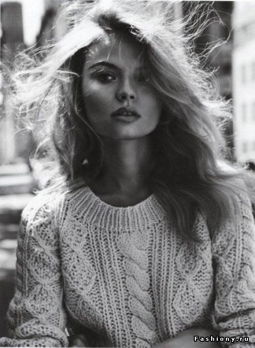 Свежие образы со свитерами oversize