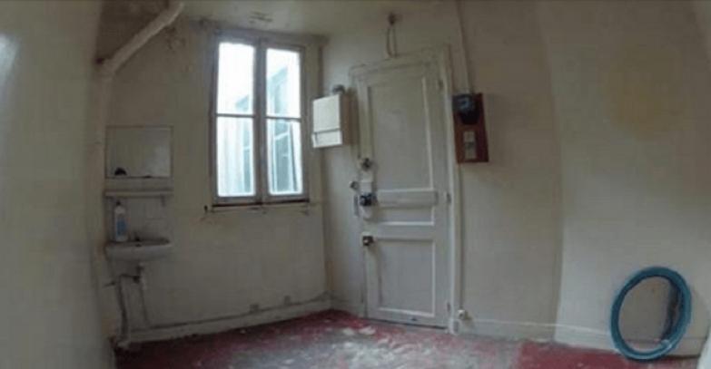 8 м² на которых уместилась полноценная квартира в Париже!