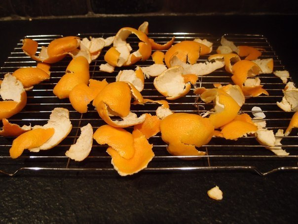 Не выбрасывайте мандариновые корки