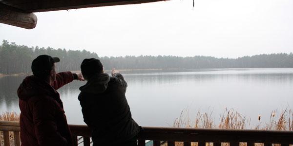 рыбалка на жерено
