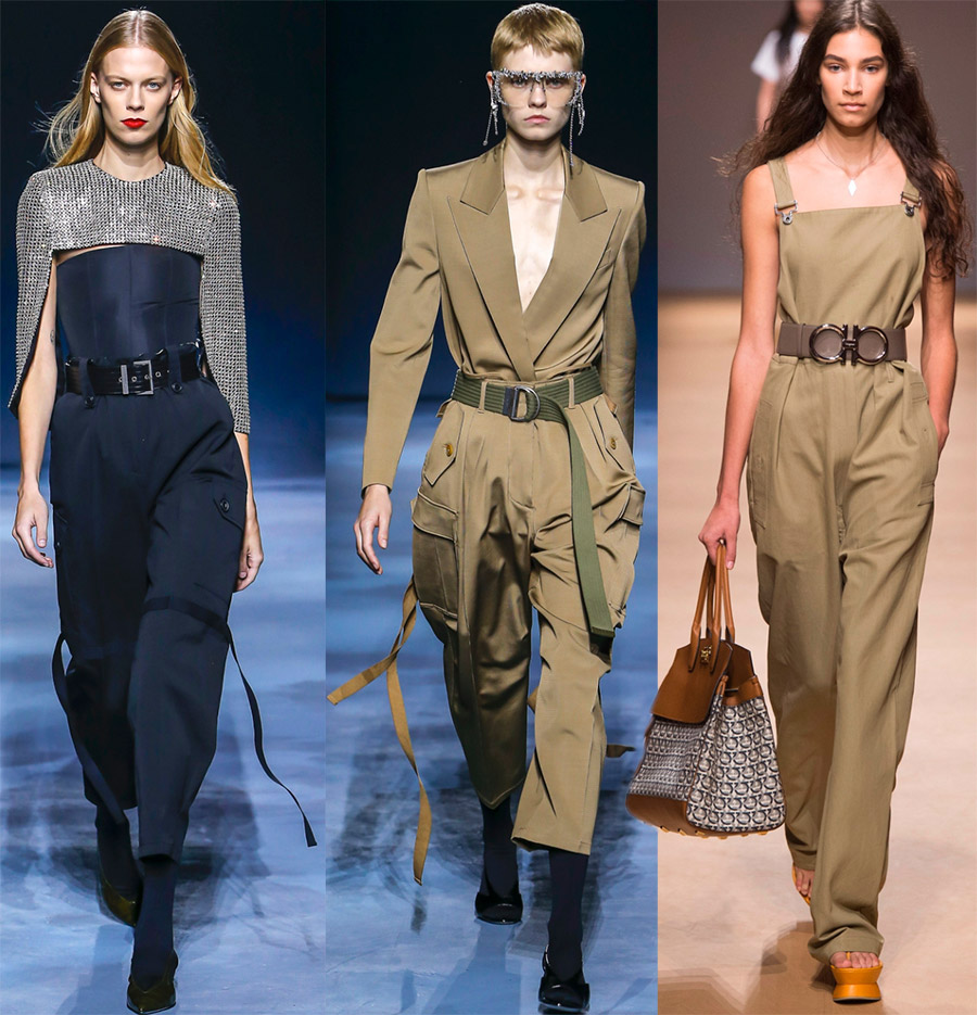 Модные женские комбинезоны