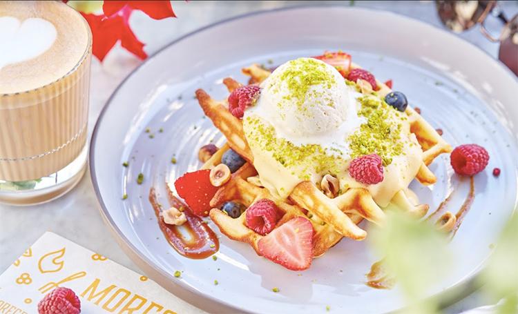 Рецепт для воскресного завтрака: бельгийские вафли