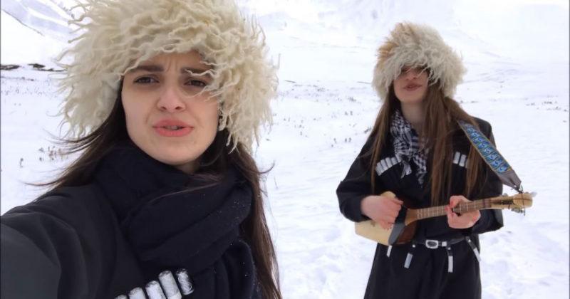 Эти три грузинских девушки сняли селфи-клип. На следующий день они проснулись знаменитыми!
