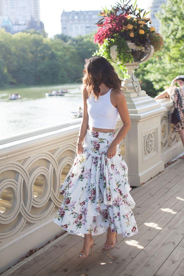 20 стильных вариантов самых модных летних юбок 2017