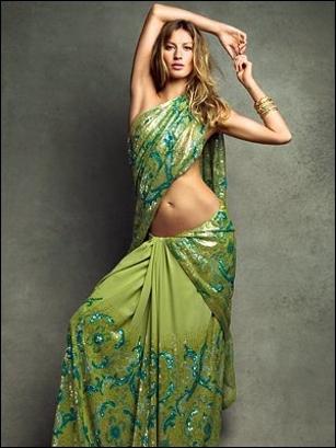 Платье в индийском стиле