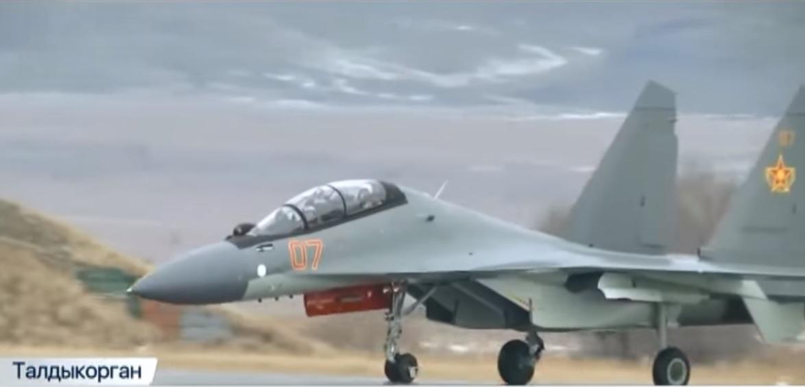 Казахстан получил еще два истребителя Су-30СМ