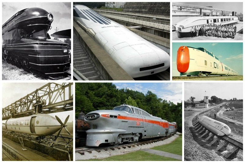 Странные, чудесные и невероятные поезда