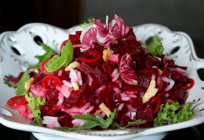 Салат «Розовые щечки»