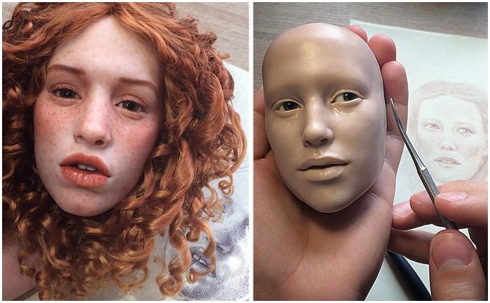 Российский скульптор создает…