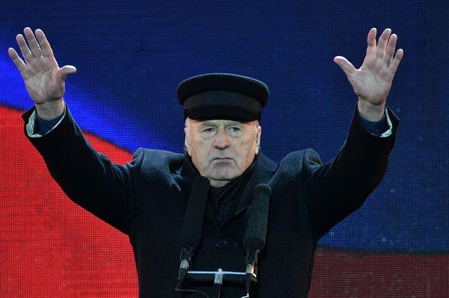 Несгибаемый Вольфович. Пять президентских кампаний Жириновского