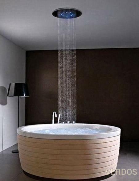 Теперь вы можете принимать дождь у себя в ванной.