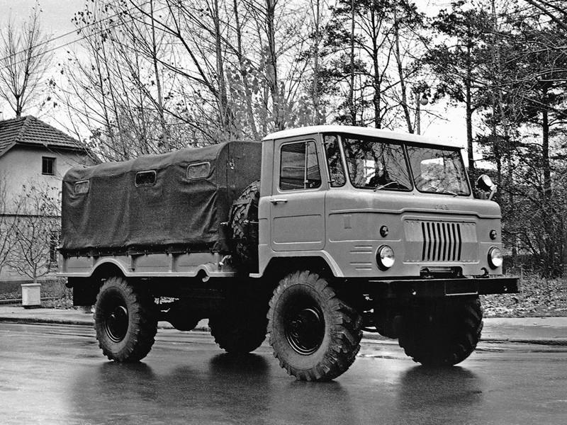 ГАЗ 66 Предсерийный 1962 год авто, история, факты