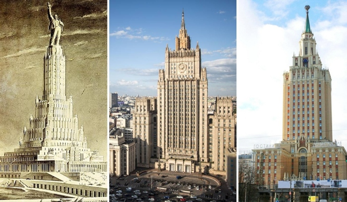 Сталинские высотки: малоизвестные факты о легендарных московских небоскрёбах