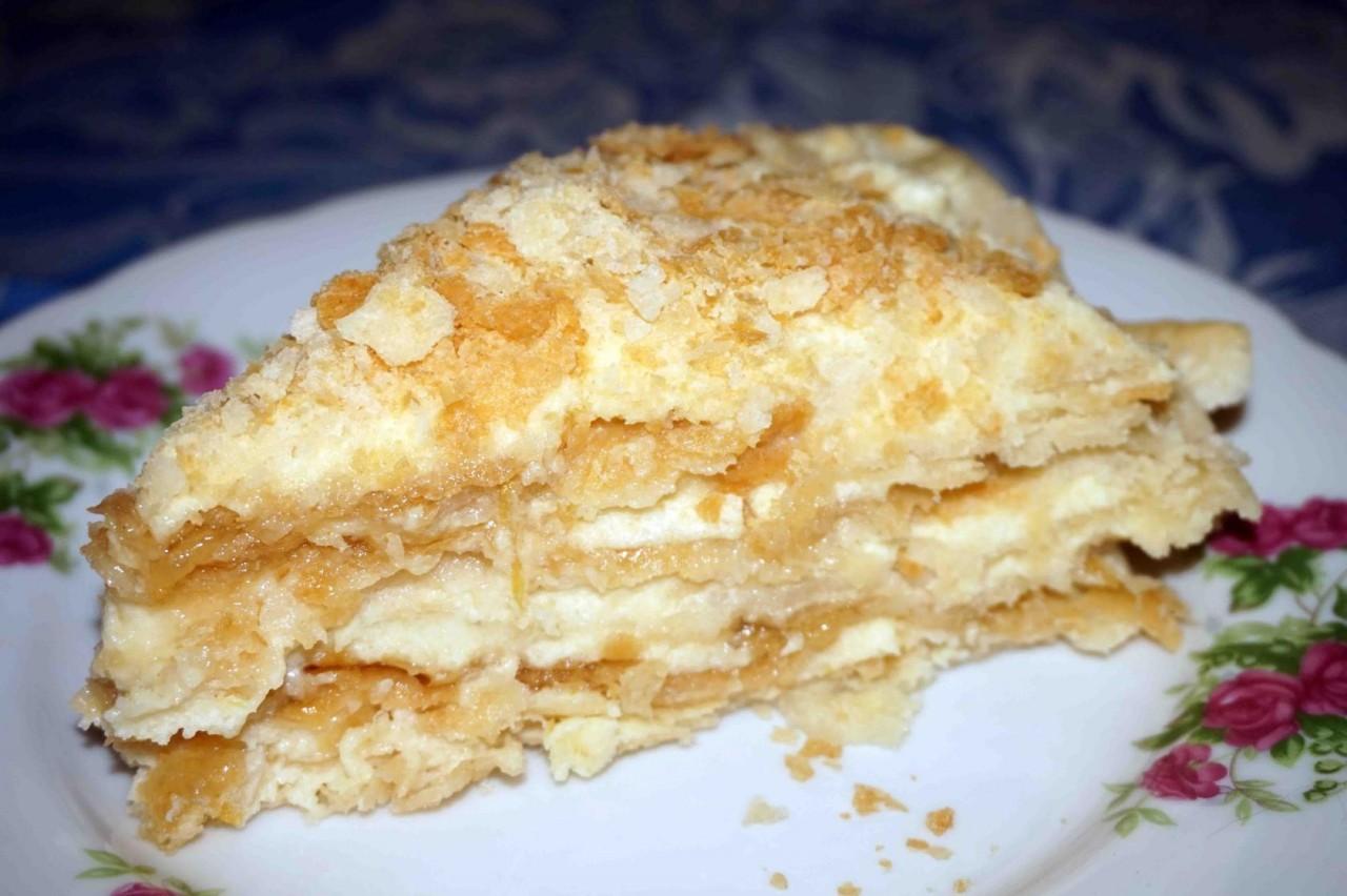 Торт «Наполеон»… почти постный