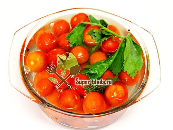 помидоры черри