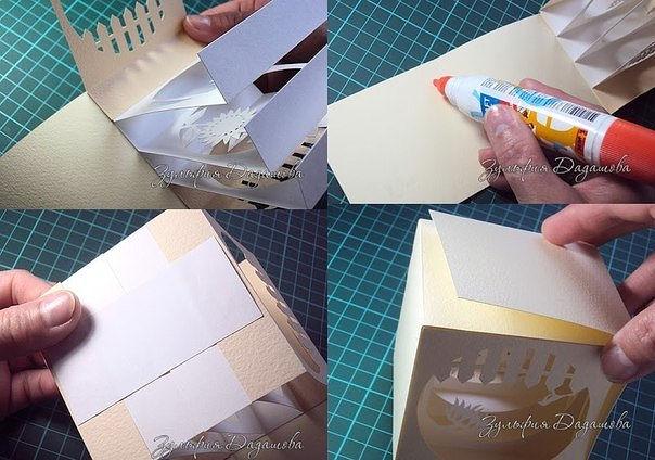 Бумажный куб-туннель. МК
