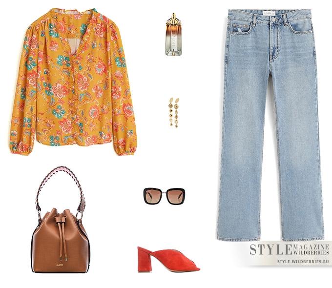 Весенние цветы – 5 образов от стилистов