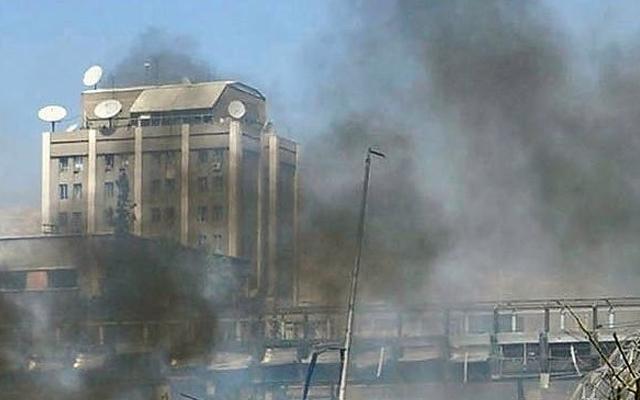 Посольство РФ в Дамаске дважды обстреляли из минометов