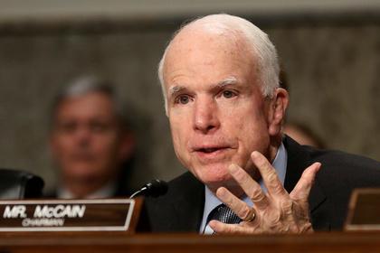 Маккейн признал за Россией роль главного игрока на Ближнем Востоке