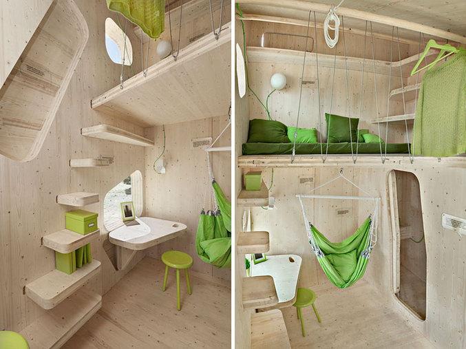 Очень маленький дом для студента.