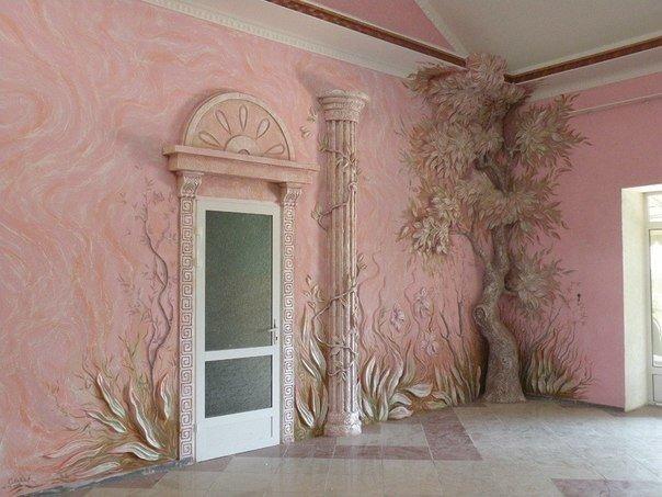 Идеи для декора стен 4