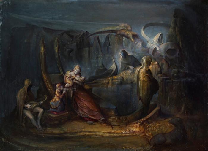 Экспрессионизм, символизм и фэнтези: неоднозначные работы итальянского художника