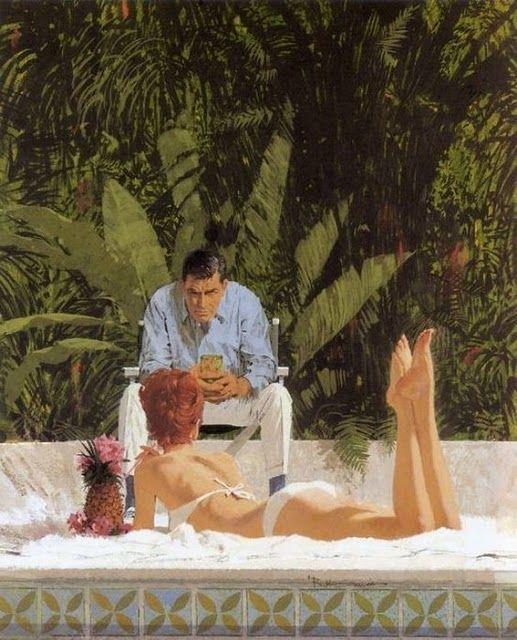 Красивые иллюстрации 60-х