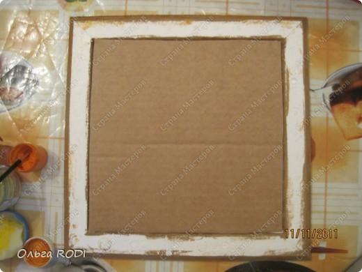 Рамочка из потолочного плинтуса. 85460