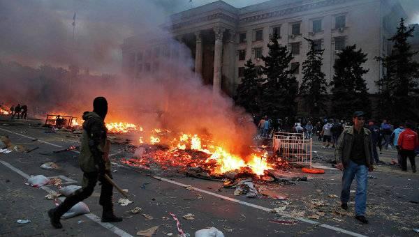 """Следствие по-украински: """"Основная причина трагедии в Одессе - халатность сотрудников ГСЧС"""""""