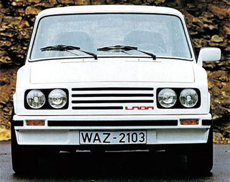 ВАЗ-2103 от Porsche СССР, экспорт