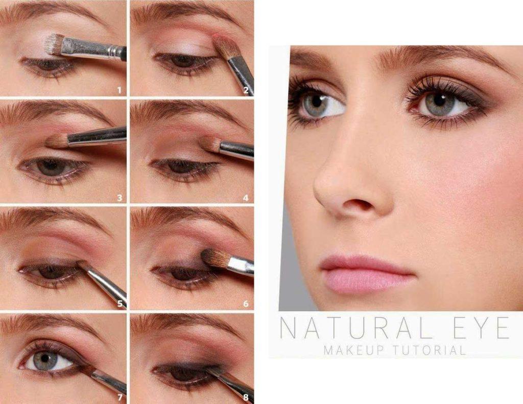 Как сделать глаза выразительными естественный макияж