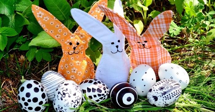 как красиво украсить пасхальные яйца