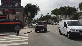 УАЗ на Улицах Лос-Анджлеса