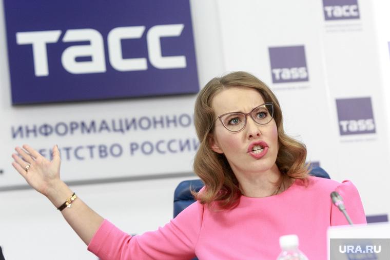 Собчак обвинила Рогозина в с…