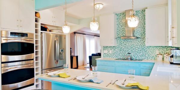 голубые кухни-3