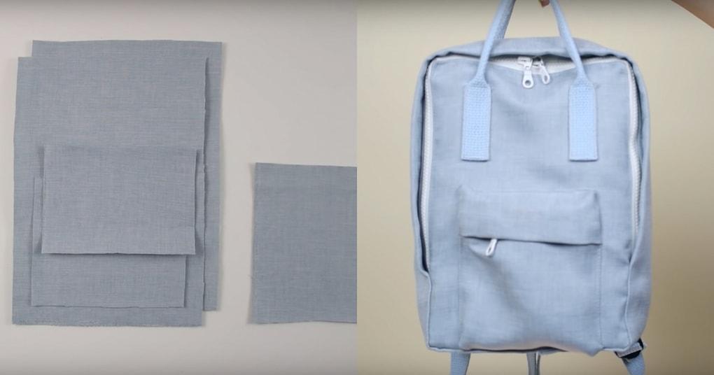 Идея, которую стоит воплотить в жизнь: стильный рюкзак своими руками