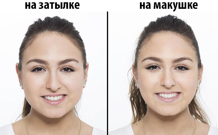 как сделать лицо визуально худее фото