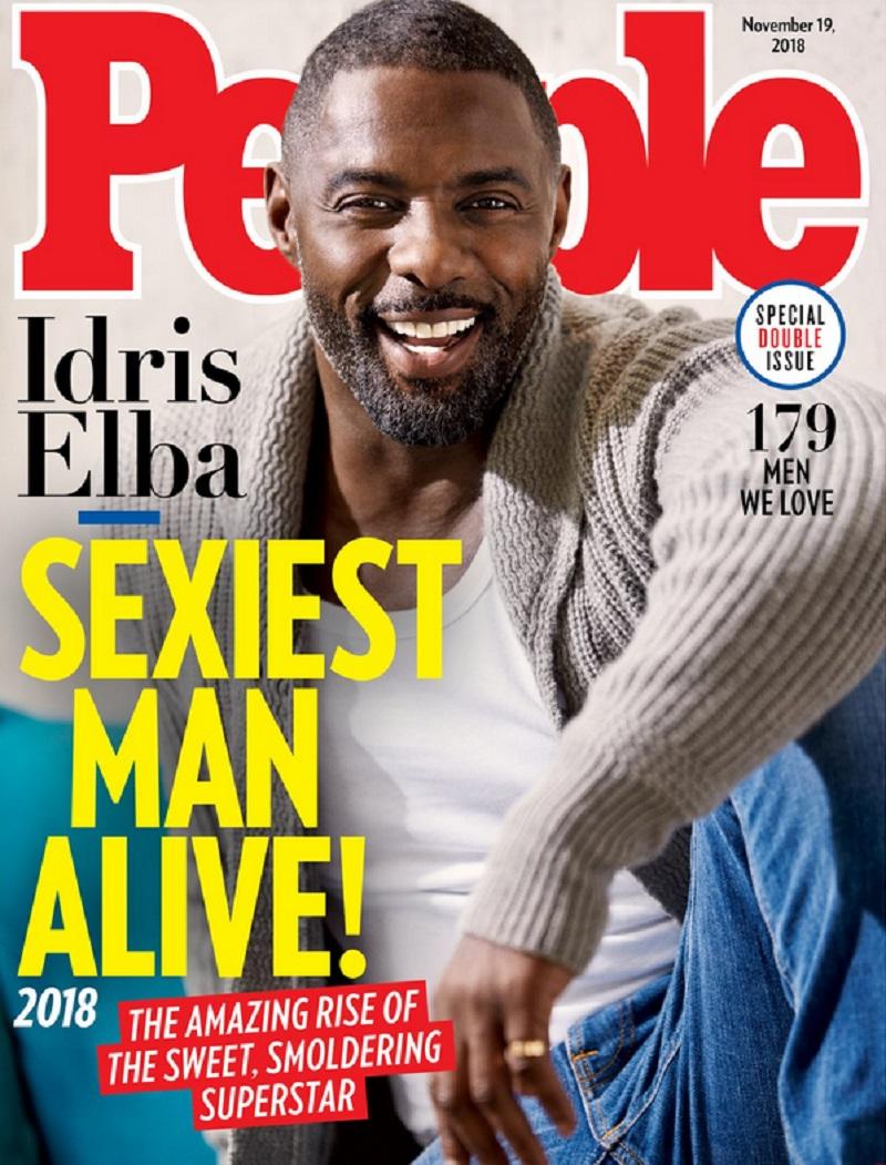 Идрис Эльба стал самым привлекательным мужчиной в мире