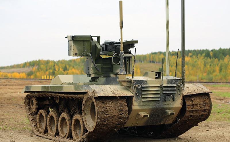 Русский робот против американского киборга