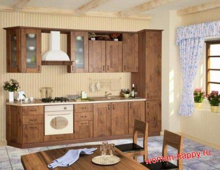 Как выбрать вытяжку на кухню в стиле кантри