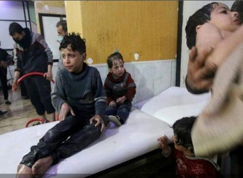 Мальчик, изображавший жертву химатаки в Сирии, рассказал правду